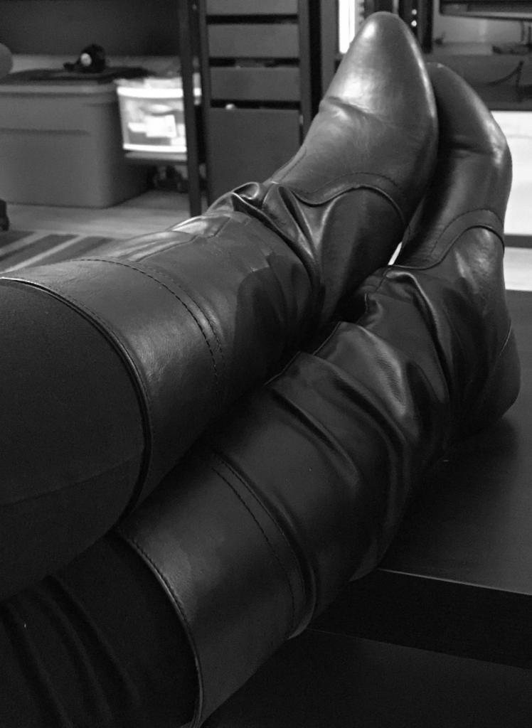 Kayla's boots